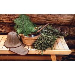 Использование целебных трав в паровой бане